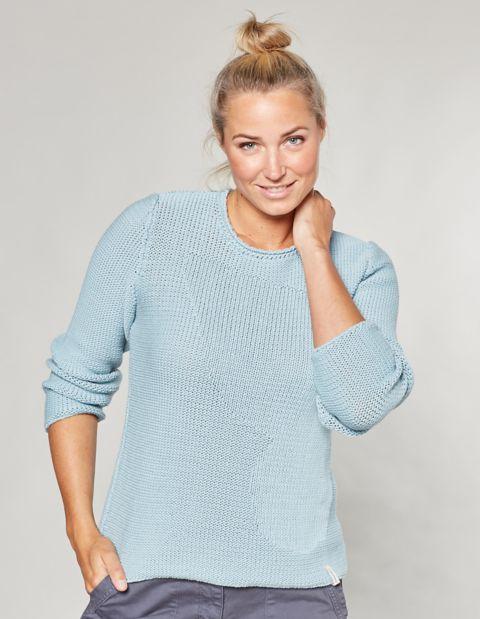 Image of Deerberg Baumwoll-Pullover Caren,