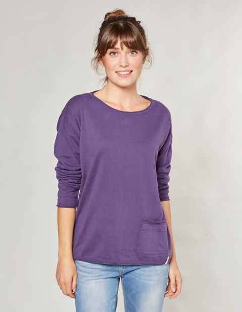 Strick-Pullover Maxa, Lila