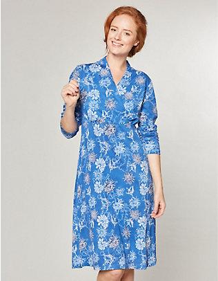 Deerberg Jersey-Kleid Sadira brillantblau-bedruckt