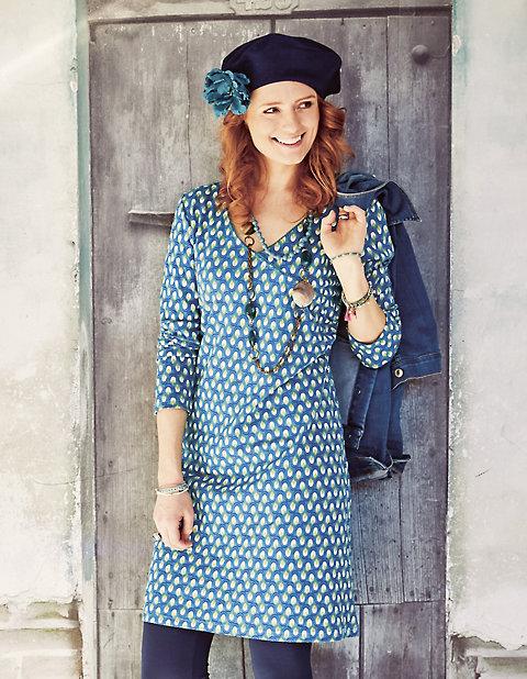 Deerberg Jersey-Kleid, langarm Geelke