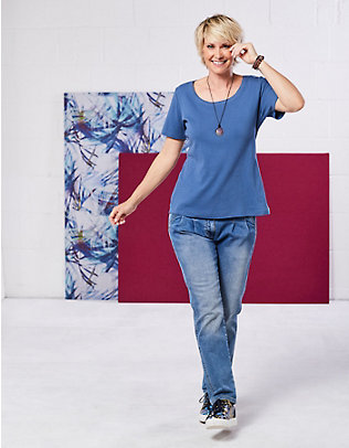 Deerberg Stretch-Jeans Esme blue-used