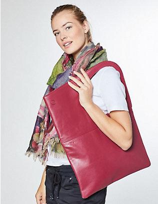 Leder-Tasche Kate bengalrot