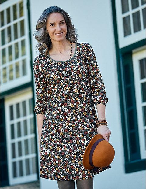 Deerberg Druckjersey-Kleid Juline