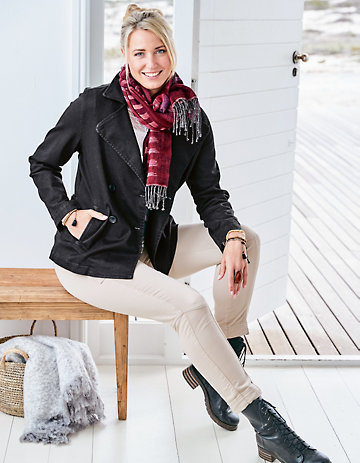Deerberg Jeans-Jacke Manola schwarz