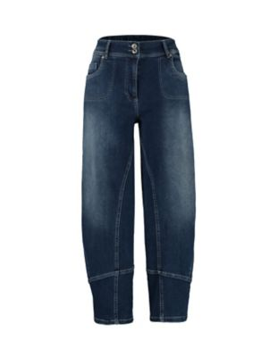 Deerberg Relaxed-Fit-Jeans Eve dark-denim