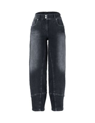 Deerberg Stretch 7/8 Jeans Eve black denim