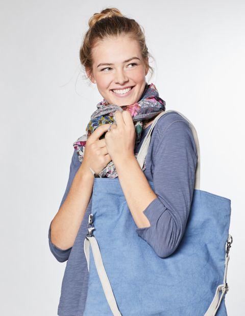 Image of Deerberg Canvas-Tasche Milly, Blau