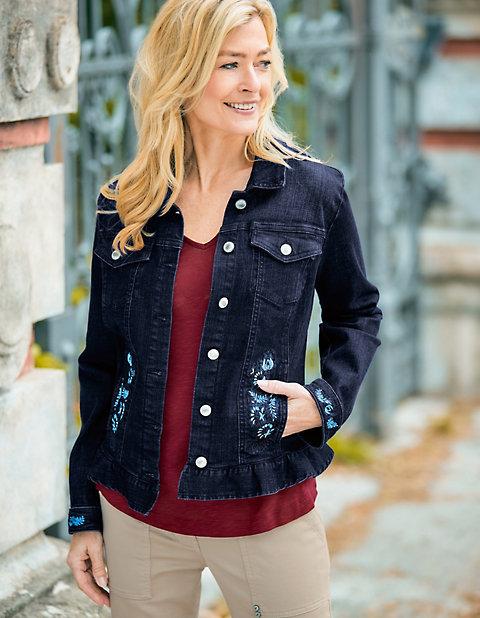 Deerberg Stretch-Jeans-Jacke Kylie