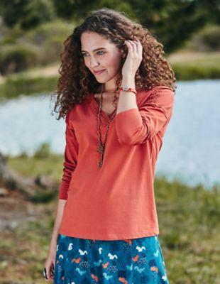 Deerberg Jersey-Shirt Jola tabasco