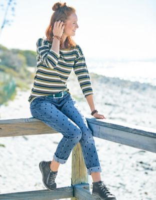 Deerberg Stretch-Jeans Irina blue-used