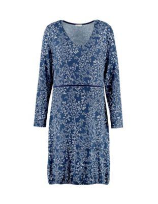 Deerberg Jersey-Kleid Ilaria marine-bedruckt