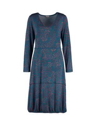 Deerberg Jersey-Kleid Ilaria libellenblau-bedruckt