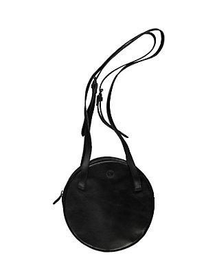 Leder-Tasche Jale schwarz