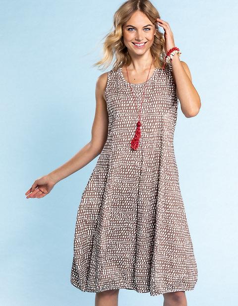 Deerberg Jersey-Kleid, ärmellos Algea