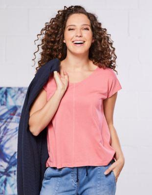 Deerberg Jersey-Shirt Miria himbeersorbet