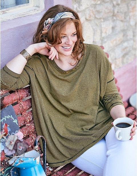 Deerberg Jersey-Oversized-Shirt Laiska