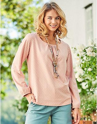 Deerberg Jersey-Shirt Madelina rosa