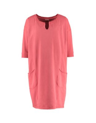 Deerberg Sweat-Kleid Ihana himbeersorbet-washed