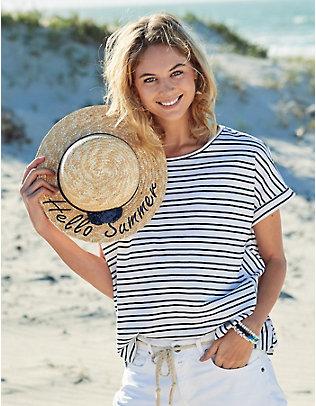 Deerberg Jersey-Shirt Nohea marine