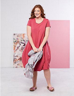 Deerberg Jersey-Kleid Faviola nelkenrot