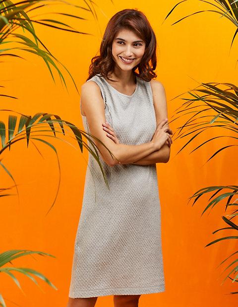 Laura Deerberg Jacquardjersey-Kleid Talisha