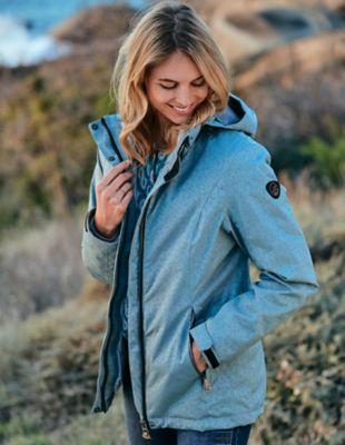 Deerberg Outdoor-Jacke Diertje morgennebel
