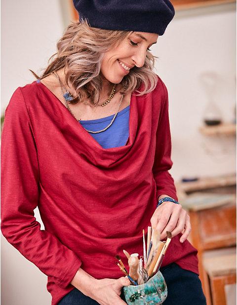Deerberg Jersey-Shirt Madelin