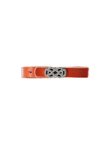 Leder-Armband Bele orange