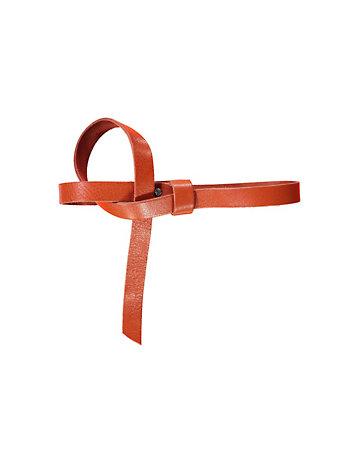 Leder-Gürtel Carice orange