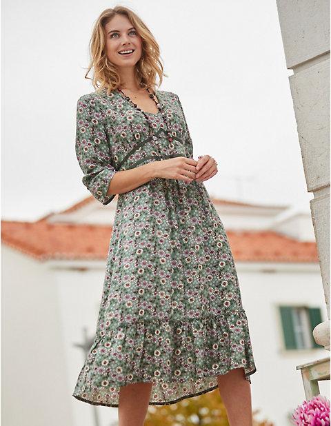 Deerberg Druck-Kleid Neta