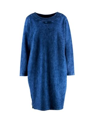 Deerberg Sweat-Kleid Hardina blaubeere-washed