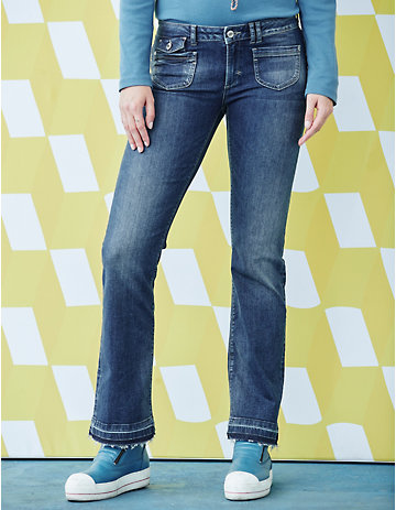 Deerberg Stretch Jeans Ingmari dark denim