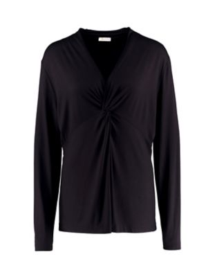Deerberg Jersey-Shirt Noortje schwarz