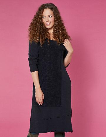 Deerberg Jersey-Kleid Sirke schwarz