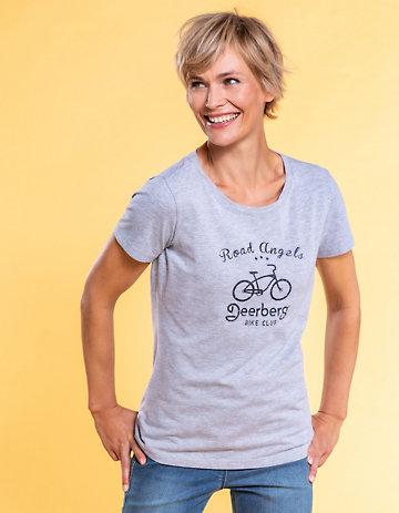 Deerberg Jersey-Shirt Sulia grau-melange