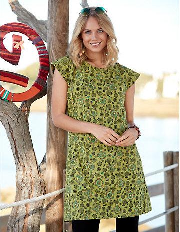 Deerberg Jersey-Kleid Netis grün