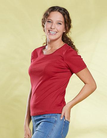 Deerberg Jersey-Shirt Freida rot