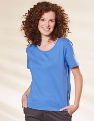Deerberg Jersey-Shirt Freida flaggenblau