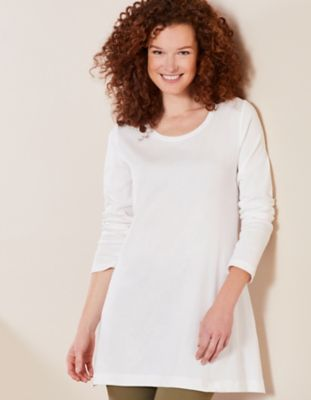 Deerberg Jersey-Shirt Elenai weiß