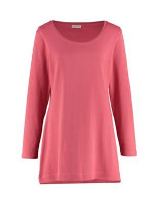Deerberg Jersey-Shirt Elenai nelkenrot