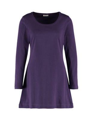 Deerberg Jersey-Shirt Elenai brombeere