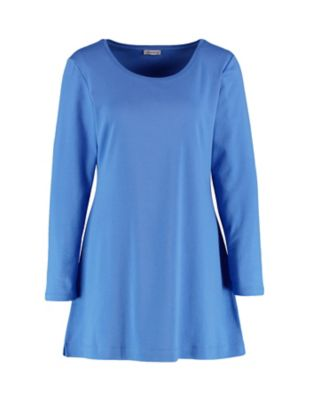 Deerberg Jersey-Shirt Elenai flaggenblau