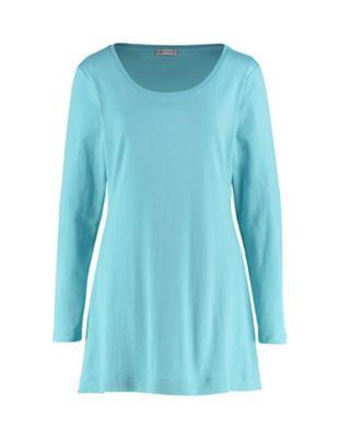 Deerberg Jersey-Shirt Elenai topasblau