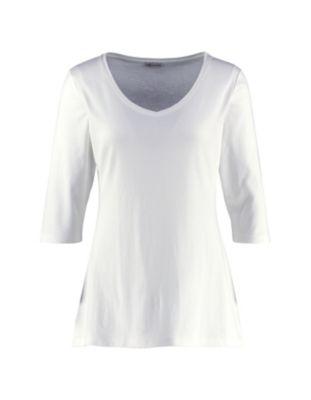 Deerberg Jersey-Shirt Chrissa weiß