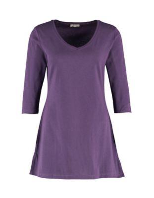 Deerberg Jersey-Shirt Chrissa brombeere
