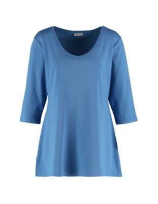 Deerberg Jersey-Shirt Chrissa flaggenblau