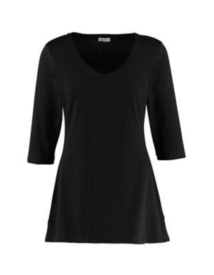 Deerberg Jersey-Shirt Chrissa schwarz