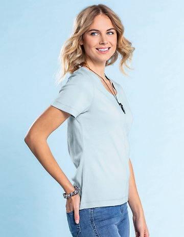 Deerberg Jersey-Shirt Hasine indigodolde