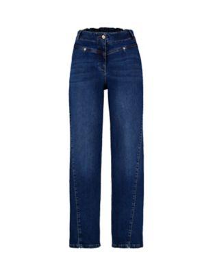 Deerberg Relaxed-Fit-Jeans Ranita dark-denim