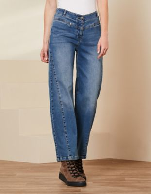 Deerberg Relaxed-Fit-Jeans Ranita blue-used